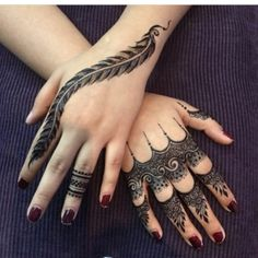 10 Creative Henna Tattoo Designs