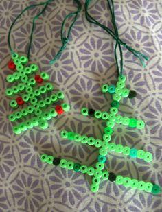 Christmas trees hama beads