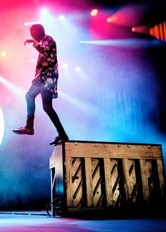 Tyler looks like he's walking on air. Oml.
