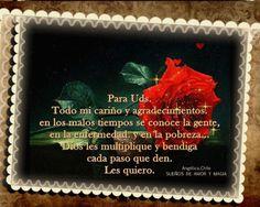 SUEÑOS DE AMOR Y MAGIA: Para Uds.