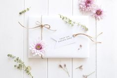 Gift tag mockup - styled stock image by White Hart Design Co. on @creativemarket