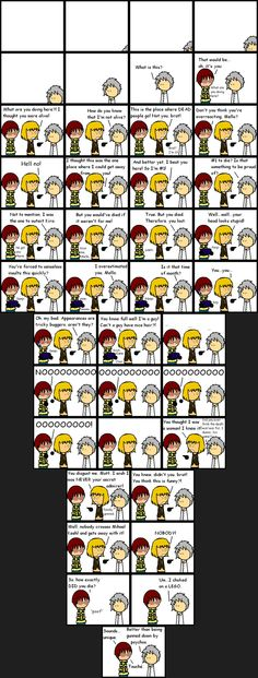 Death Note funny :) silly Mello :)