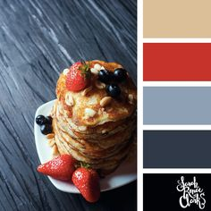 Red winter hues // Winter Color Schemes // Click for more winter color combinations, mood boards and seasonal color palettes at http://sarahrenaeclark.com #color #colorscheme #colorinspiration