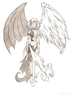 half angel half demon anime - Buscar con Google