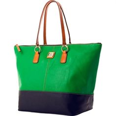 Color blocking bag!