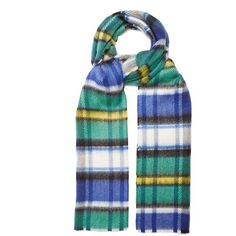 6cec8a121c63 Burberry Tartan-checked scarf (15.885 RUB) ❤ liked on Polyvore featuring  accessories