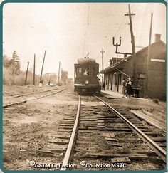 IBERVILLE, Québec - Montréal & Southern Counties station-gare p 1953_edited Train Stations, Of Montreal, Quebec, Railroad Tracks, Abandoned, Trains, The Neighbourhood, Southern, Pictures