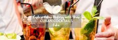 Famous Cuban Cocktails That Tell The History of Cuba - ASocialNomad Famous Cubans, Cocktails History, Cuba History, Asparagus, Rum, Food To Make, Vegetables, Recipes, Studs