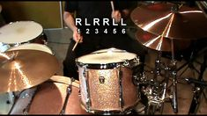 This is another way to play triplets. Once you get the stroke down, you'll have loads of fun with this one, give it a go around the toms and experiment. Drum Patterns, Drum Music, How To Play Drums, Double Bass, Music School, Clarinet, Triplets, Percussion