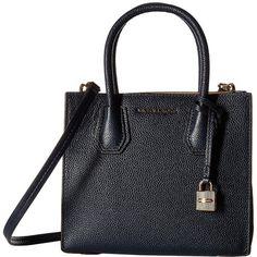 Shoulder Bag for Women, Hamilton, Dark Avio Blue, Leather, 2017, one size Michael Kors