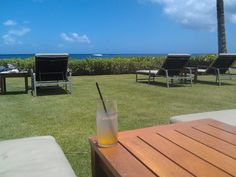 relaxing at Koa Kea