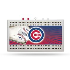 Chicago Cubs MLB Cribbage Board