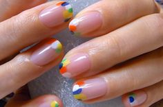 Hokuri Nails Are The Most Kawaii Form Of Nail Art Ever The designs inspired by a Japanese nail salon called Hokuri feature tiny adorable details that anyone can do. Here are a few of the popular Hokuri nail motifs. Nail Art Vernis, Kawaii Nails, Japanese Nails, Funky Nails, Minimalist Nails, Cute Nail Art, Hot Nails, Cute Nail Designs, Manicure And Pedicure