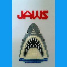 Jaws hama perler beads by frikithings