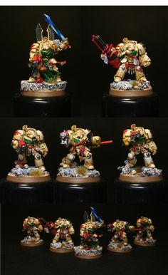 Dark Angels Deathwing Terminators from Warhammer 40000: Dark Vengeance