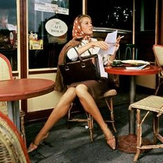 Jane Fonda, Cafe De Flore, Paris, 1961 | Photo by Willy Ronis