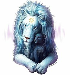 How the lion of light got birth to the lion of dark