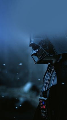 Starwars Darth Vader Art Film Blue iPhone 6 wallpaper