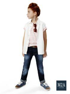 M2A Jeans   Fall Winter 2015   Kids Collection   Outono Inverno 2015   Coleção Infantil   calça jeans infantil masculina; look infantil; denim kids.