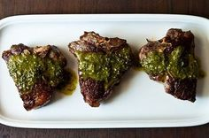 Lamb chops and the chimichurri sauce are quite simple to prepare and inexpensive, but incredibly special and delicious. The chimichurri sauce is bursting with flavors and can be used as a salad dressing, drizzled over tomatoes or topped on fish, chicken or steak. Making extra and storing the rest in the fridge is a good way to go. This chimichurri sauce was inspired by lemons&anchovies.com which is an amazing and fascinating food blog that you will have to check out! I changed the sauce a…