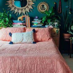 38 Unbelievable Plans for Boho Bedroom ~ House Design Ideas Room Ideas Bedroom, Bedroom Colors, Decor Room, Boho Home, Hippie Home Decor, Eclectic Decor, My New Room, Hygge, Decoration