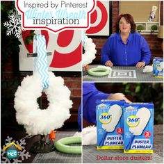 DEC 11th: Inspired by Pinterest Winter Wreath Inspiration, Heidi Swapp's Silicone Craft Mat