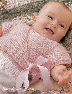 Crochet baby top free pattern More