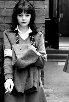 """Carey Mulligan as Jenny Mellor in ''An Education"""", 2009, directed by Lone Scherfig. ☀"""