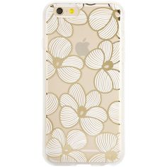 SONIX Azalea iPhone 6 Plus ($17) ❤ liked on Polyvore featuring accessories, tech accessories e white