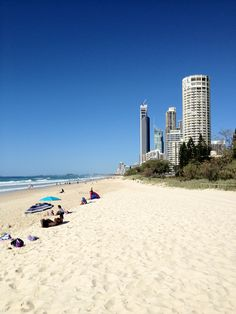 Surfers Paradise Beach ,Gold Coast Nice place to spend my 22nd birthday! -DONE