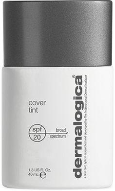 Hydrating natural foundation, no perfume, no irritation. Dermalogica cover tint spf20