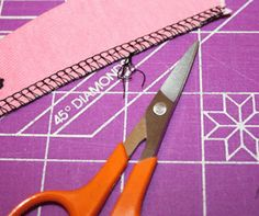 on't mind the look of a plain old serged edge as a hem. Use a contrasting color and it kind of looks like the hem has some sort of trim at t...