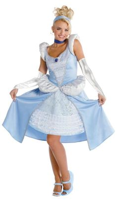 Cinderella Sassy Teen Costume 7-9