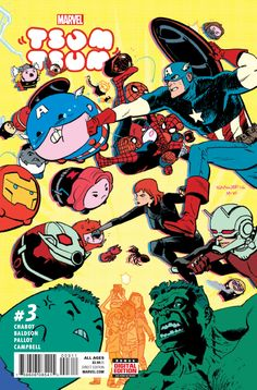 TSUM TSUM CIVIL WAR?! • The Tsum Tsums square off with foes you'd never expect - including each other!