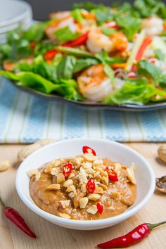 Vietnamese Peanut Sauce imo, 1 sauce or dressing has ? Love their spicy wing sauce! hmm, I wonder if Kevin knows the # of dishes he's created by proxy? Vietnamese Food, Vietnamese Recipes, Clean Eating Recipes, Healthy Eating, Cooking Recipes, Simmer Sauce Recipe, Asian Recipes, Healthy Recipes, Dips
