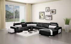 Incredible-Colour-Scheme-For-Living-Room-With-Black-Sofa-And-Using-Elegant-White-Curtains-Also-Photo-Frame.jpg (1024×643)