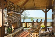 Outdoor Spaces | News | Log Cabin Homes