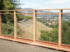 I like this fro deck railing idea