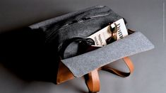 """An exquisite masterpiece of forward thinking design and traditional Italian leather mastery. A holdall with such a high editorial appeal. Casual yet über smart, fitting to every style from dress down denim to sharp suited travelling. What sets it apart Thegenerously sized (52 x 26 x 20 cm / 20.4""""x 10""""x 8"""") Italian veg tanleatherand wool holdall fully opens and luxuriously wraps around your clothes. It features two shoulder straps (45cm / 17"""") and two large inside c..."""