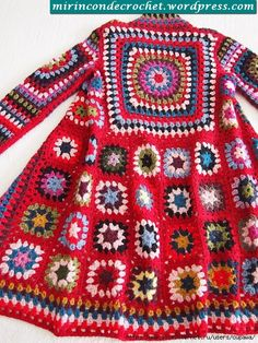 Transcendent Crochet a Solid Granny Square Ideas. Inconceivable Crochet a Solid Granny Square Ideas. Gilet Crochet, Crochet Coat, Crochet Cardigan, Love Crochet, Beautiful Crochet, Crochet Clothes, Crochet Baby, Cardigan Pattern, Vintage Crochet