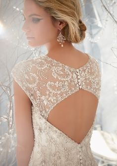 View Dress - Mori Lee Bridal FALL 2013 Collection: 1963 - Elaborately Beaded Embroidery on Net | MoriLee Bridal | Bridal Shops Toronto Wedding | Evening Dresses Bridal Gowns