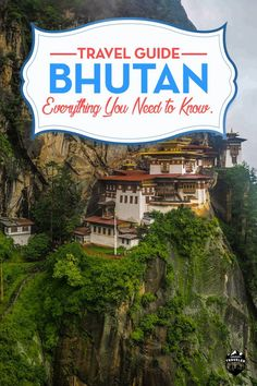 """Bhutan the land of the Thunder Dragon is to many the """"holy grail"""" in travel…"""