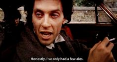"Withnail and I. Richard E Grant. ""Honestly, I've only had a few ales"" Withnail And I, Paul Mcgann, Rite Of Passage, Tv Quotes, Make Time, True Stories, Movies, Magazines, Random Stuff"