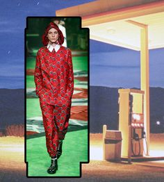 Estampadão da Gucci - será que um frentista usaria?