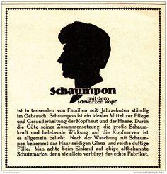 Original-Werbung/ Anzeige 1924 - SCHAUMPON - ca. 75 x 75 mm