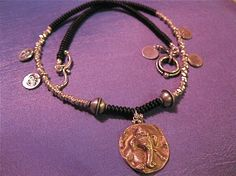 Ganesha Relic Necklace by shreelotusdesign on Etsy, $130.00