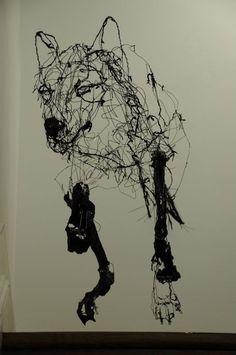 David Oliveira - wire wolves running down stairs