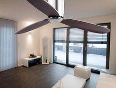 Ventilador de techo níquel NIAS ambiente