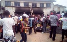 "A student has been hospitalized following a fire outbreak at the Cross River State College of Education COE Akamkpa female hostel today May 27.According to CrossRiverWatch the fire started at about 11am in the change-over switch at the hostel entrance and caused extensive damage to the building and property of the residents with no immediate help or means of putting off the inferno. ""The fire extinguishers at the hostel were empty at the time of the fire incident. It was after this event…"