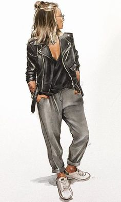 Fashion Design Sketchbook, Fashion Design Drawings, Fashion Sketches, Covet Fashion, Fashion Art, Fashion Drawing Tutorial, Cartoon Girl Images, Fashion Illustration Dresses, Digital Art Girl